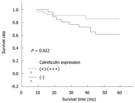 Expression Of Calreticulin Is Associated With Infiltration Of T Cells In Stage Iiib Colon Cancer Abstract Europe Pmc