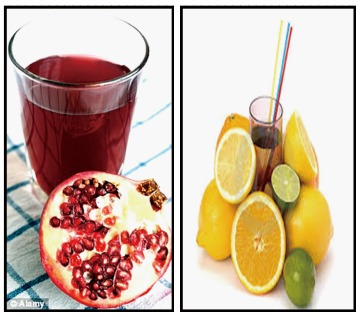 Role Of Pomegranate And Citrus Fruit Juices In Colon Cancer Prevention Abstract Europe Pmc
