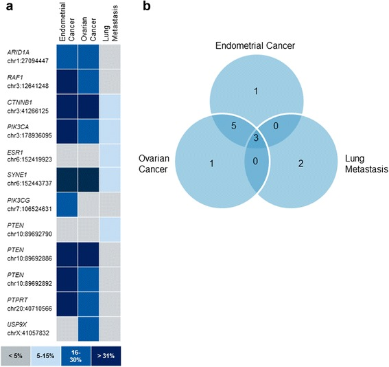 Tracking The Origin Of Simultaneous Endometrial And Ovarian Cancer By Next Generation Sequencing A Case Report Abstract Europe Pmc