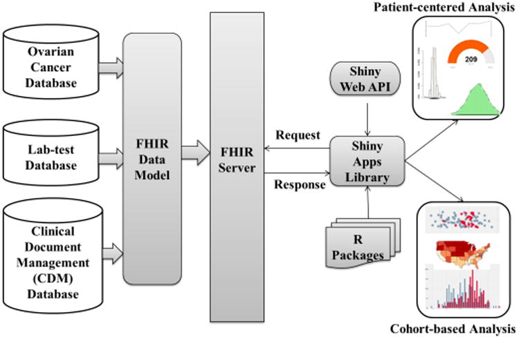 Shiny Fhir An Integrated Framework Leveraging Shiny R And Hl7 Fhir To Empower Standards Based Clinical Data Applications Abstract Europe Pmc